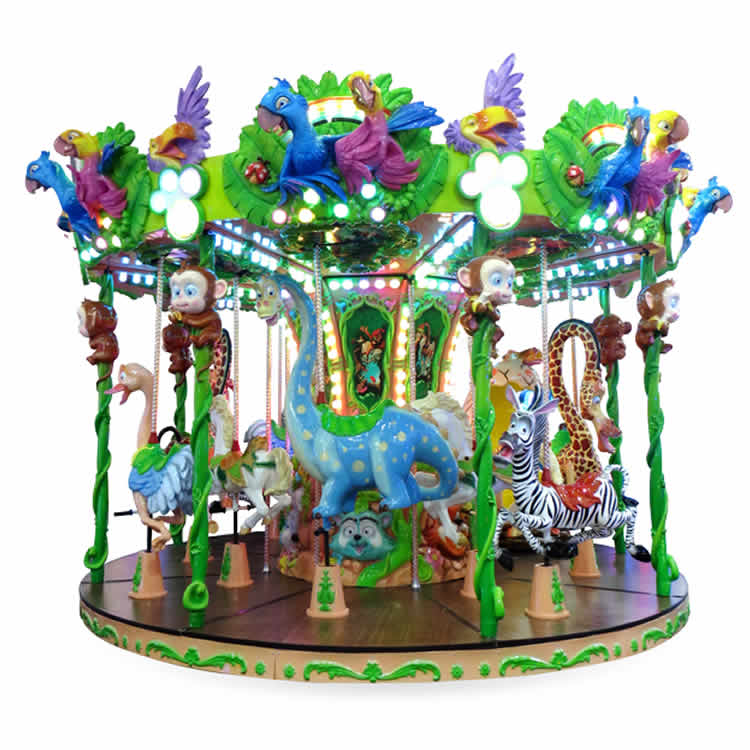 12 Seats Forest Carousel Ride HFZM24