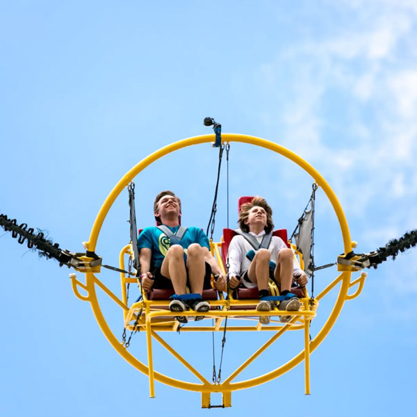What is the difference between indoor amusement equipment and outdoor amusement equipment operations