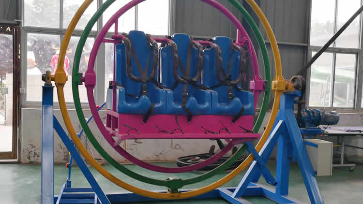 space ring rides with trailer,thrill amusement rides for sale,human giroscope rides price,trailer mounted for space ring rides